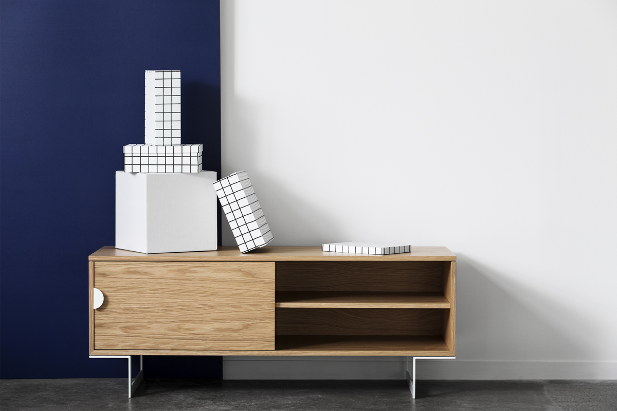Felix sideboard / tv unit - Felix is about keeping it simple. With clean lines, pure aesthetics and a very minimalist look