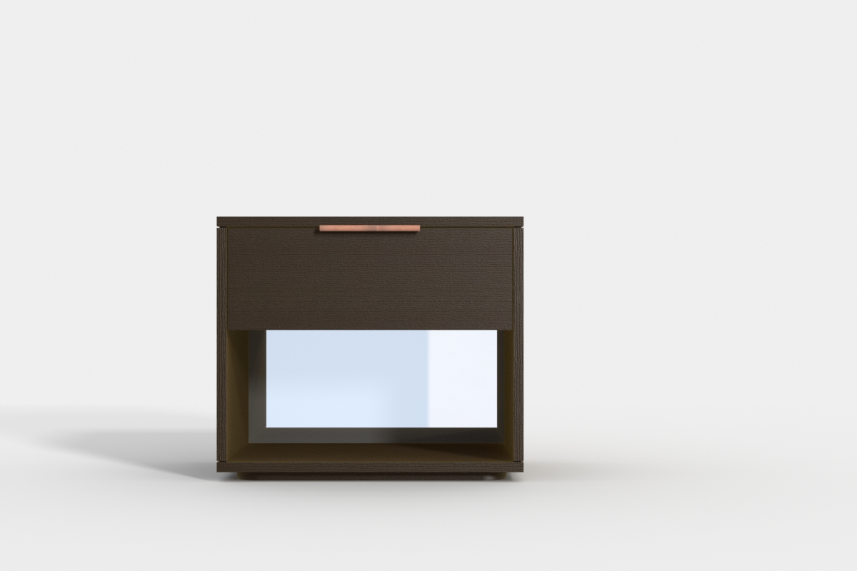 Phoebe Bedside table - with mirror