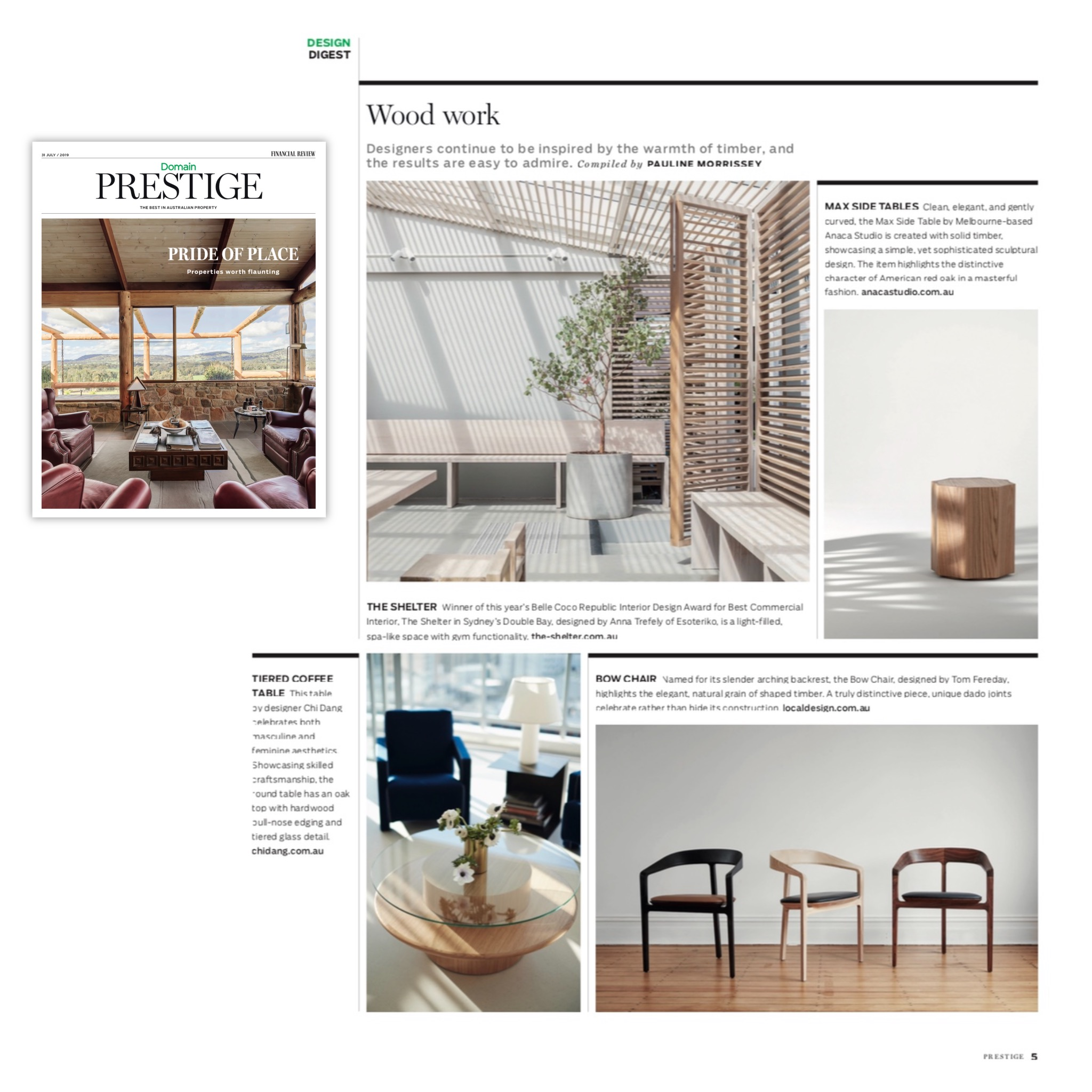 Financial Review - Domain Prestige - July 2019 - Max side tables