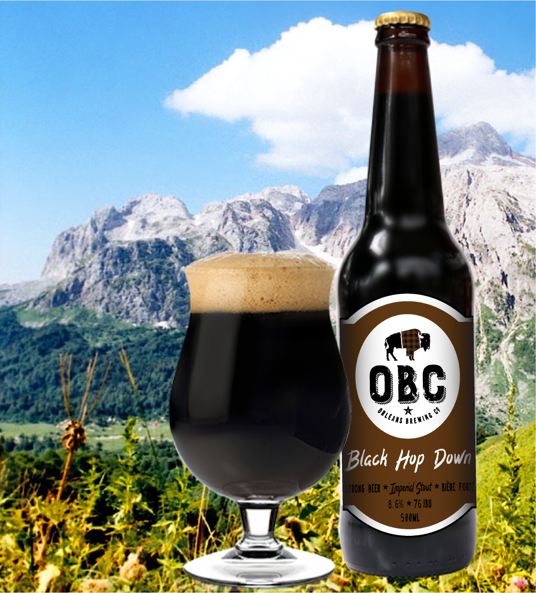 The perfect Imperial Stout for Fall weather.