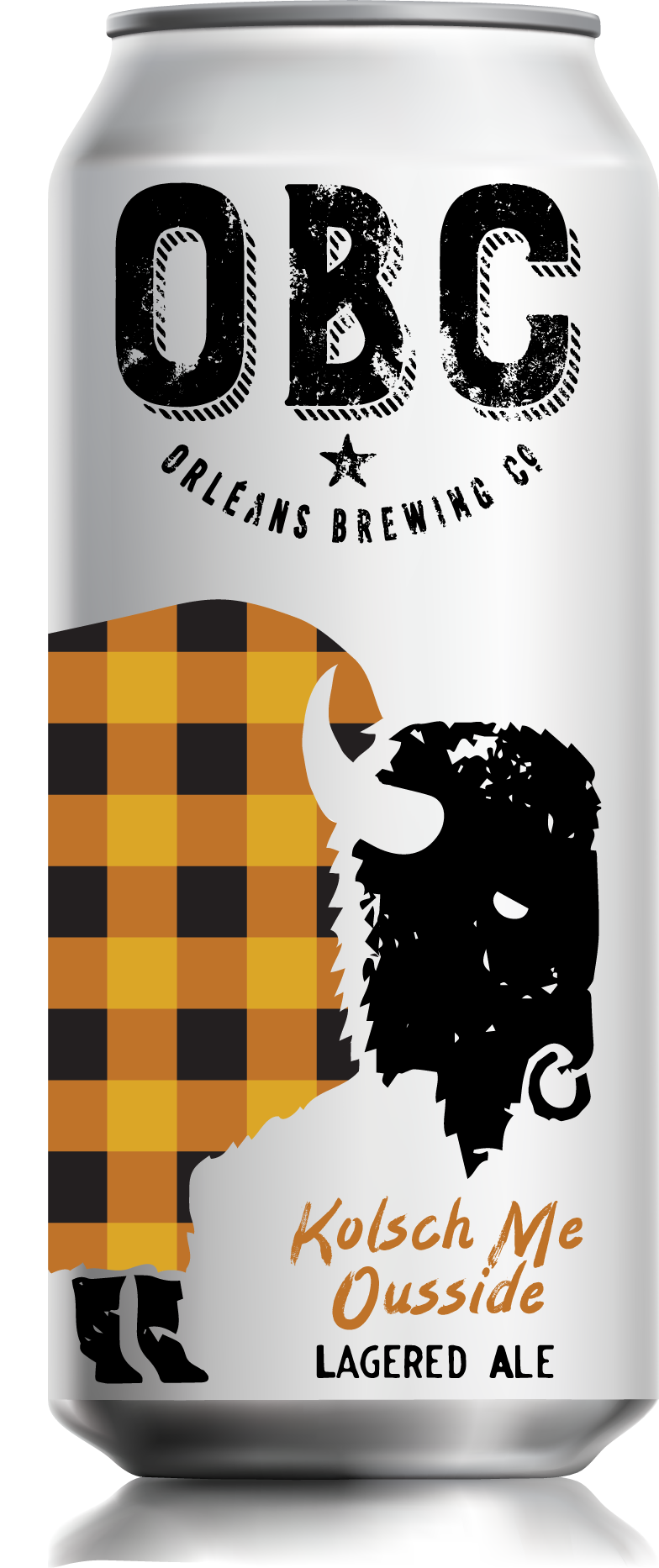 """KÖLSCH ME OUSSIDE - lagered aleFUN FACT: Bison can reach 6.5ft tall, weigh up to 1,000KG, run 60KM/H, and jump 6ft high... """"HOW-BOUDAT""""!So go ahead and """"cash"""" this cold conditionned golden ale - the perfect fresh beer that flawlessly blends malty flavours with a crisp and light finish.ABV:4.8%IBU: 24Best drank with friends and, Bratwurst, Nutty Cheeses and Cake."""