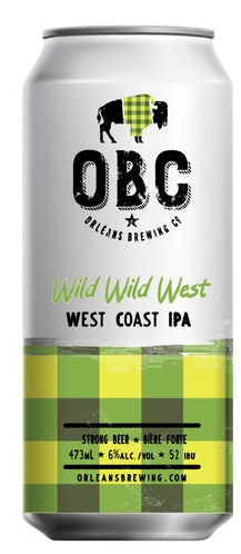Wild Wild WestWest Coast IPA - This West Coast IPA is all about the hops. It has a nice citrusy nose brought on by the triple threat of hops used in this IPA. You'd never guess it has a 6% ABV with it's crisp and dry finish. The magnitude of hops and mild sweetness of the malt make this a perfect beer to drink alone or with food.The Wild Wild West will be well balanced by meat & cheese dishes like hamburgers or the funkiest of cheese plates, roasted chicken or a spicy taco