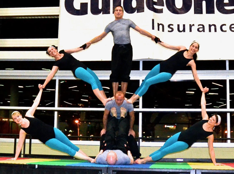 Large Group Acrobatics