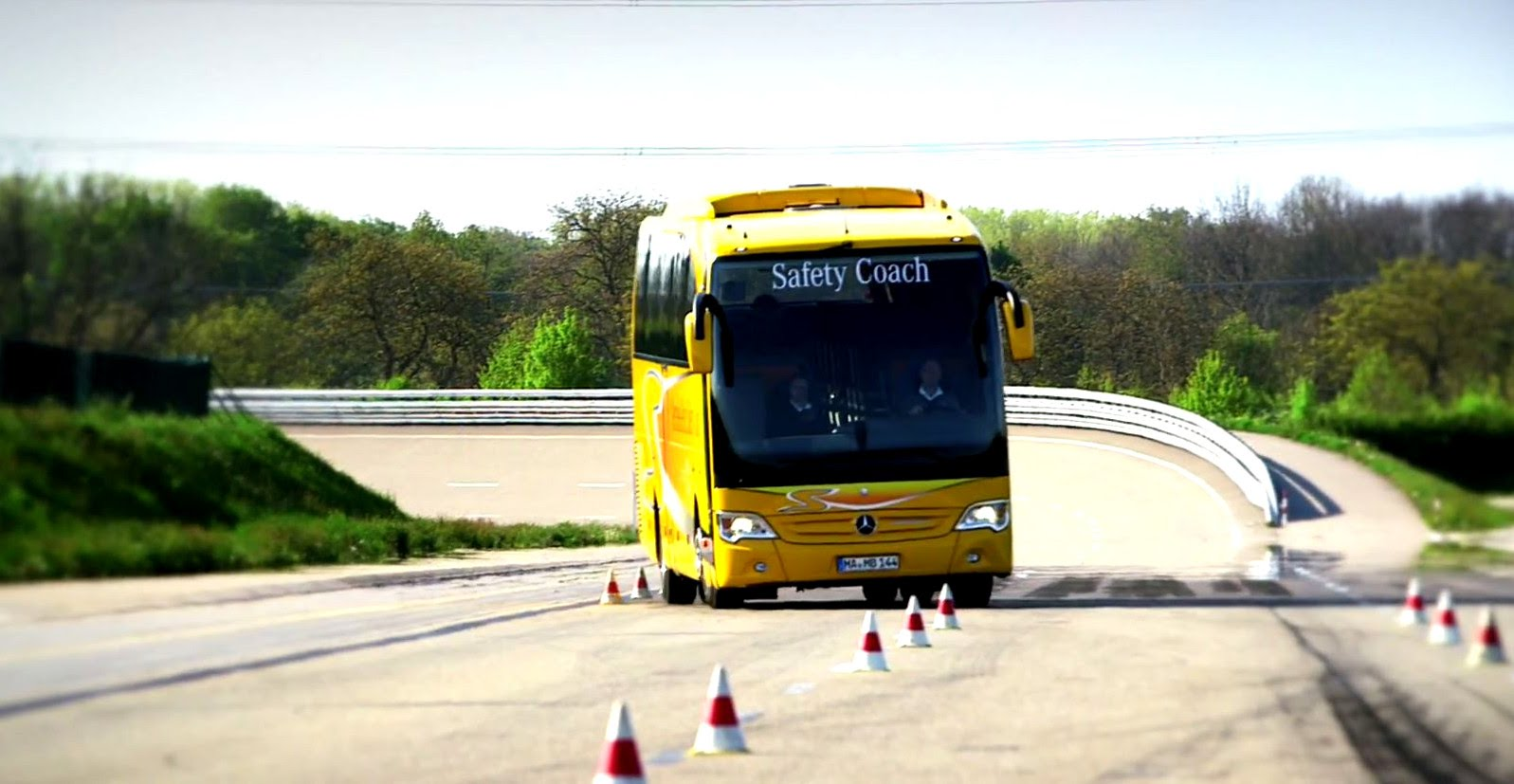 Motorcoach driver training and safety