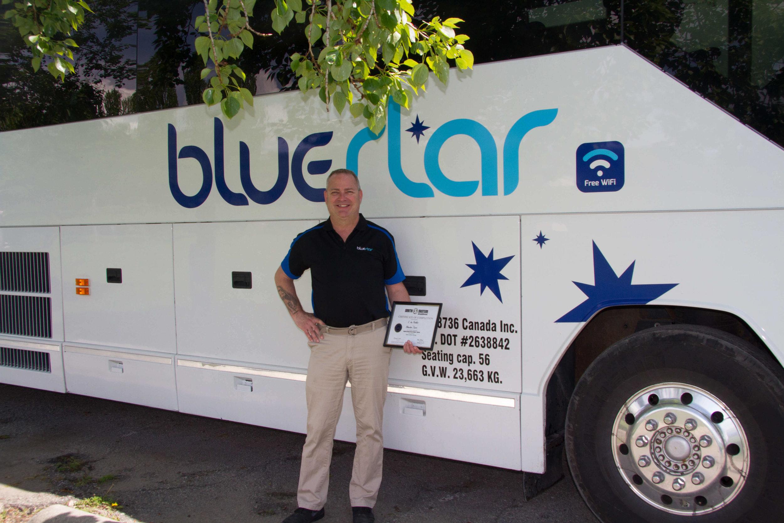 BlueStar Fleet Safety Award