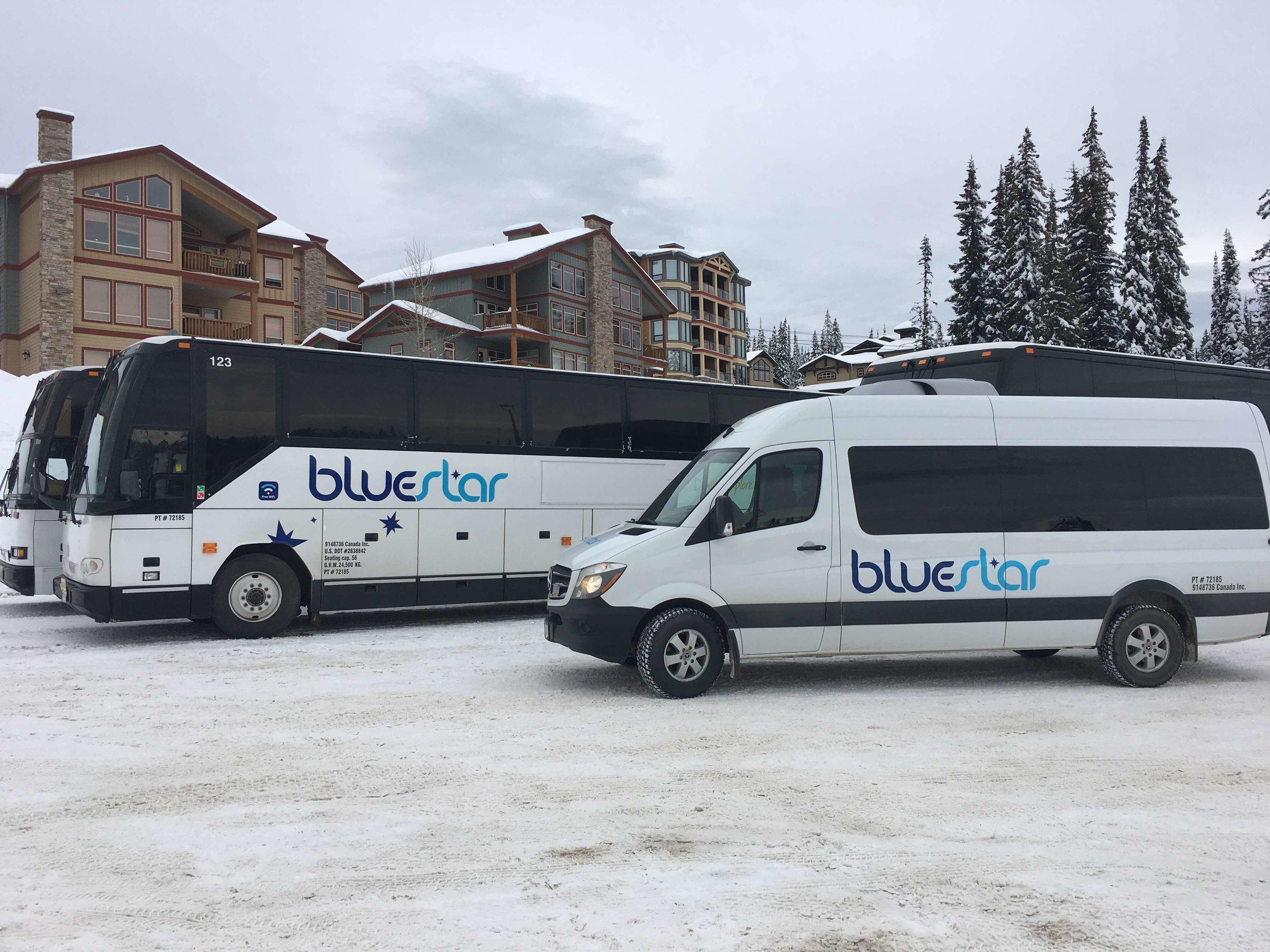 Bluestar Coachlines at Big White