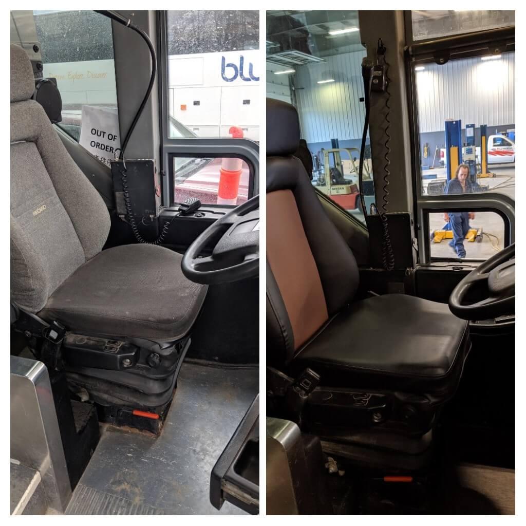 BlueStar offers custom Retrofit Services - Driver Seats