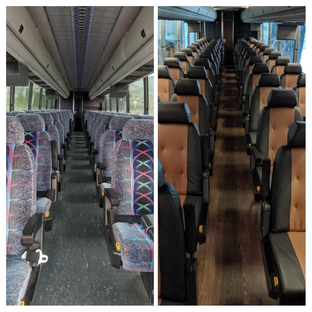 BlueStar offers custom Retrofit Services - Passenger Seats