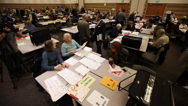 MICHIGAN VOTE RECOUNT November 2016.  Several Fems for Change members worked on the recount and many more were pollworkers during the election.  Civic duty and voter rights are a primary focus of many FFC embers.