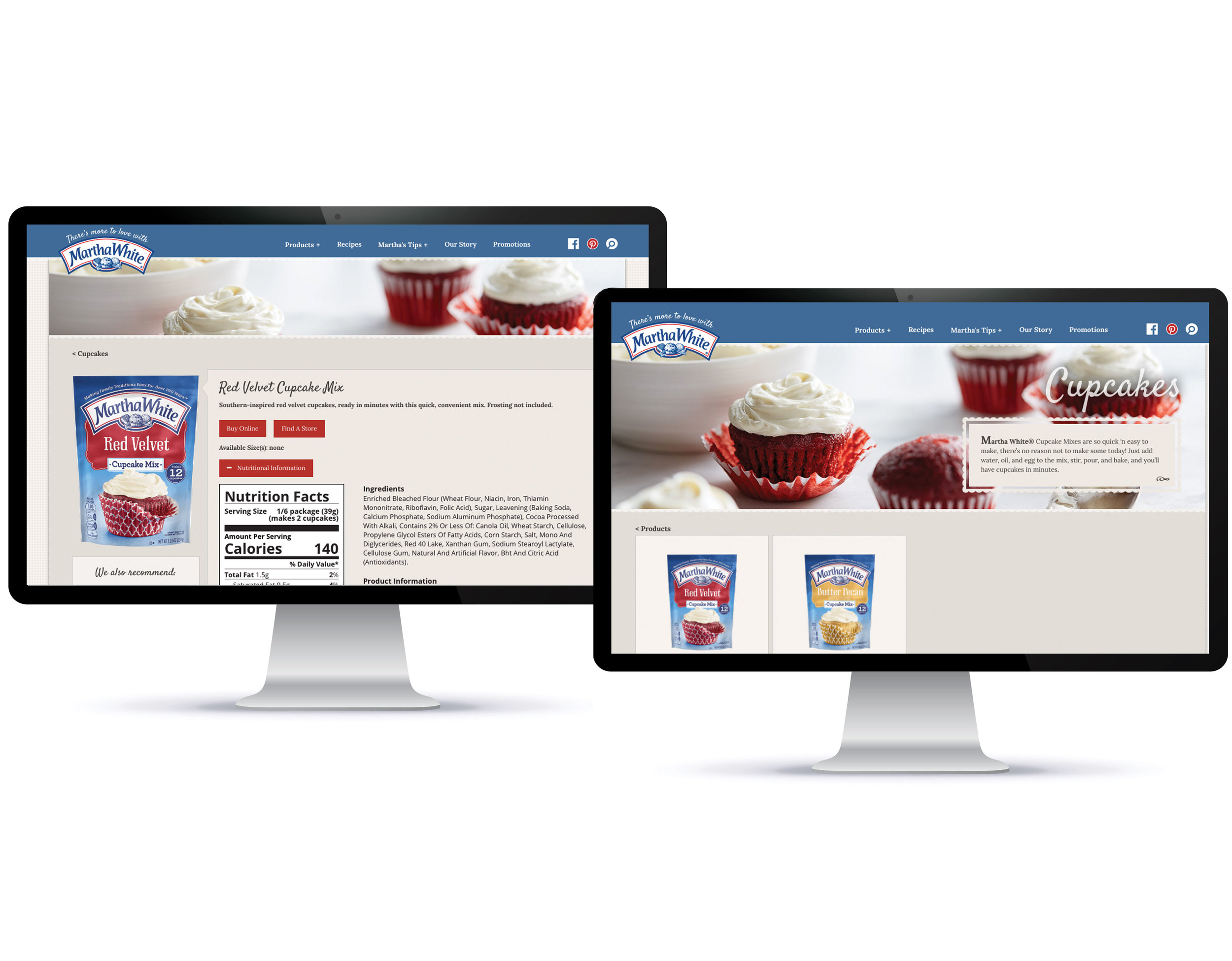 LANDING PAGE    Write new product landing page that easily conveys product benefits and nutritional facts.