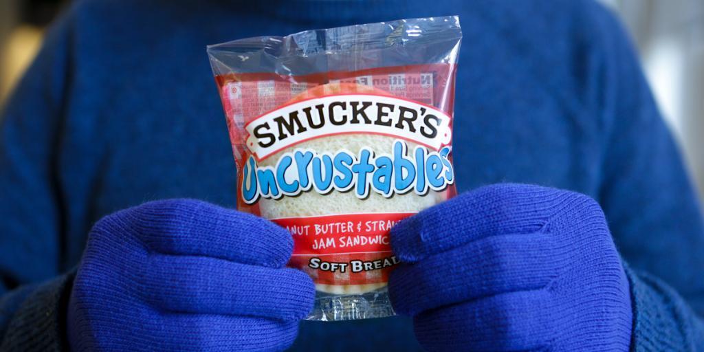 Gloves for frostbite. ❄ Uncrustables for big bites.