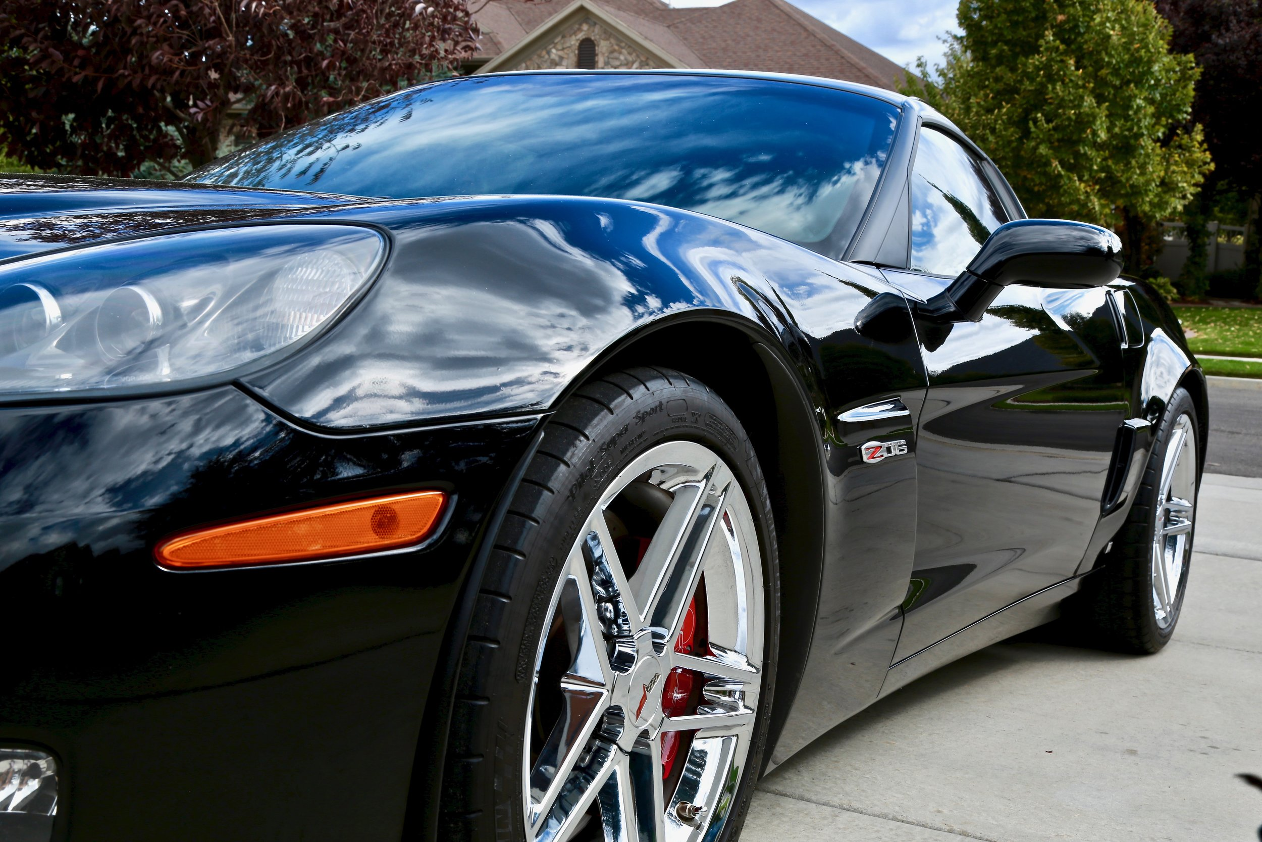 Corvette Z06 - Full paint corretion and coated w/ Dr. Beasleys Nano Resin Pro -