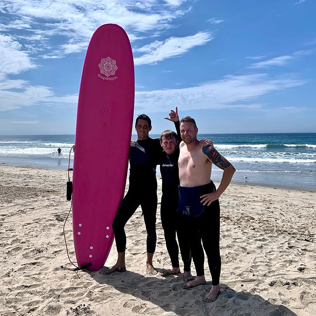 Final day of surfing here at, Sunset Beach in Cali. We had an absolute blast again with, Zach (instructor) and can not wait to be back! @dancingofdoom @surfridersacademy #sunsetbeach #california #surfing #soulsearching #nevertooold #surfridersacademy