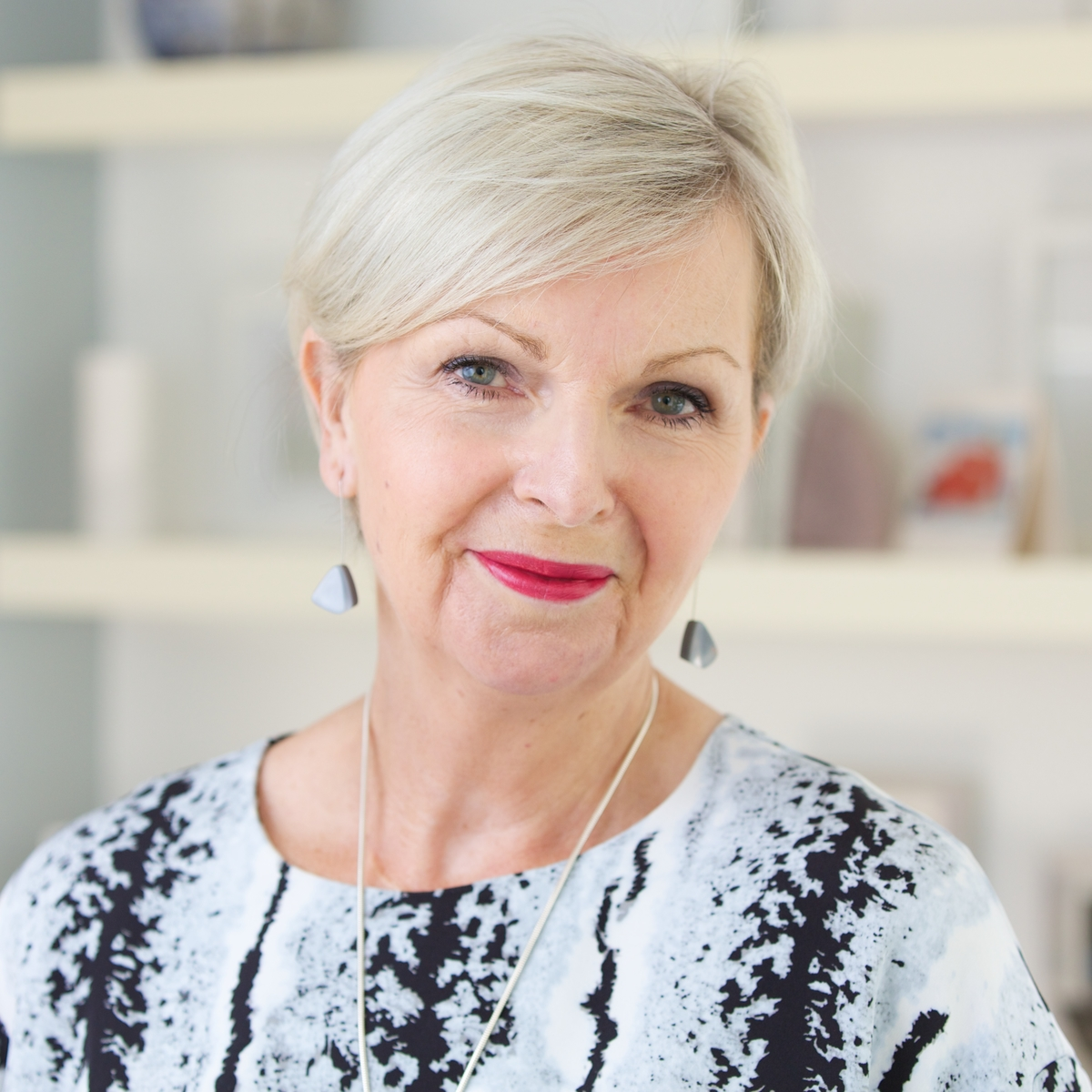 Tricia Cusden, Founder of Look Fabulous Forever Makeup Line for women 50+
