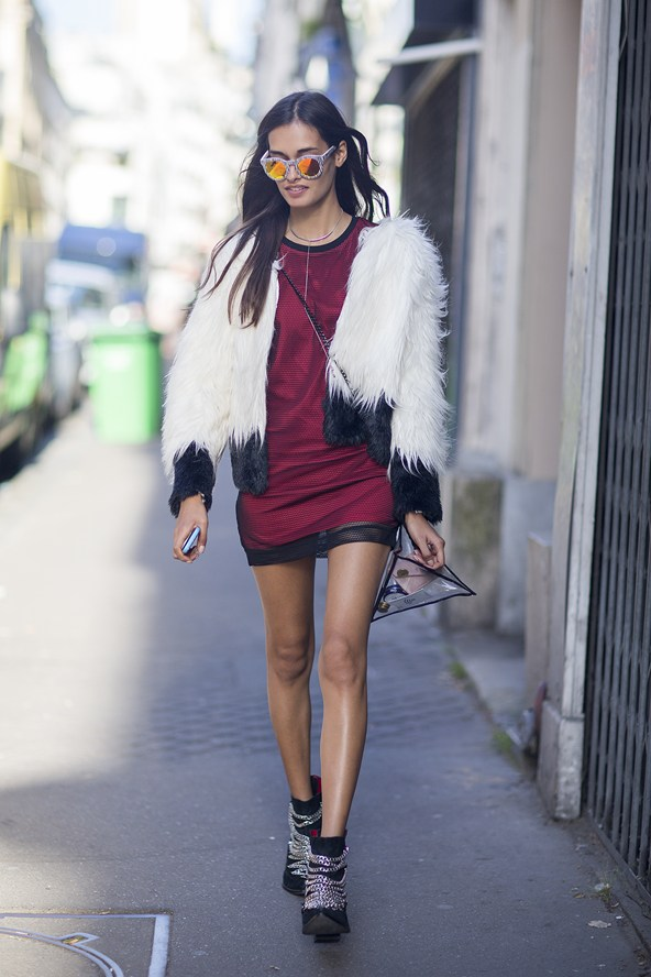 Chic January style