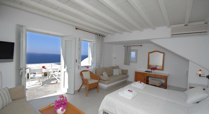 Mykonos View from hotel
