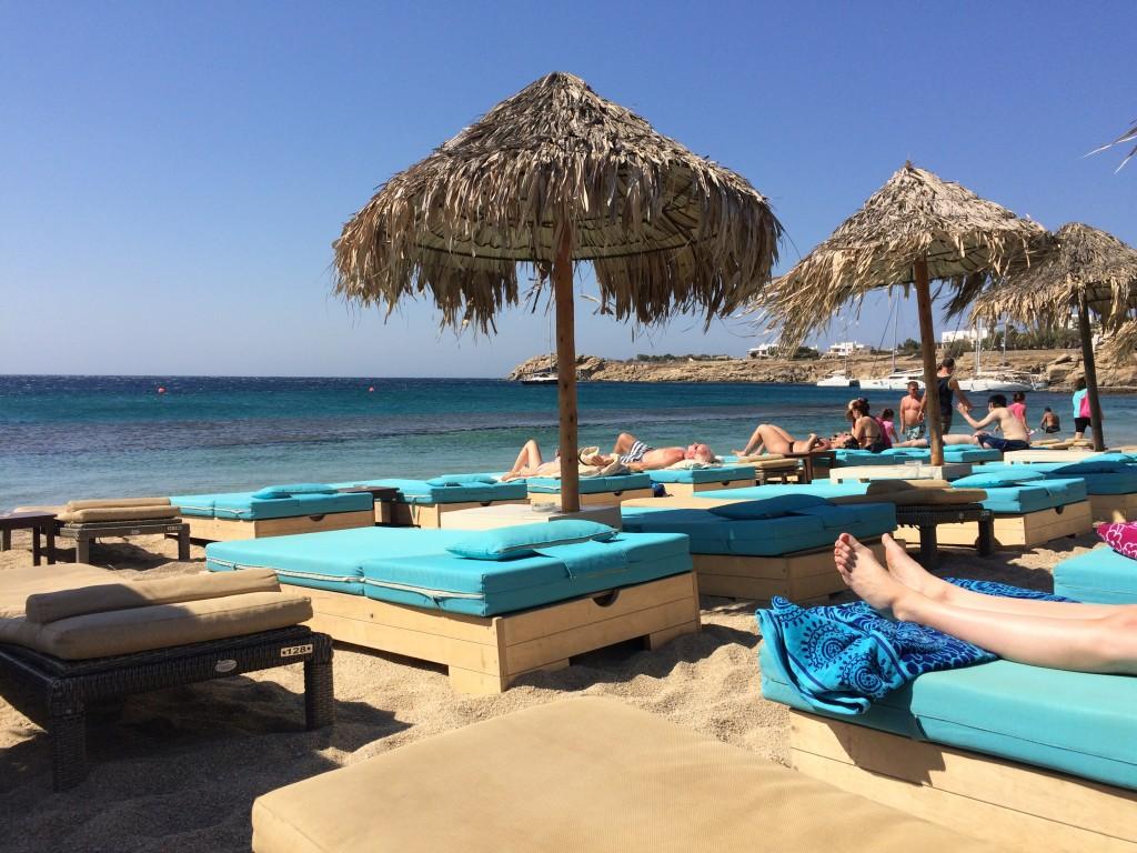 Beautiful Paradise Beach, Mykonos