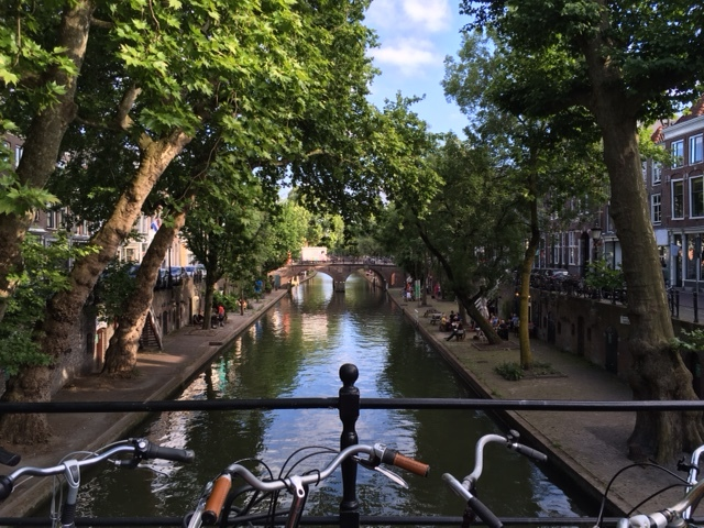 Let's bike by a shady canal - Reflection