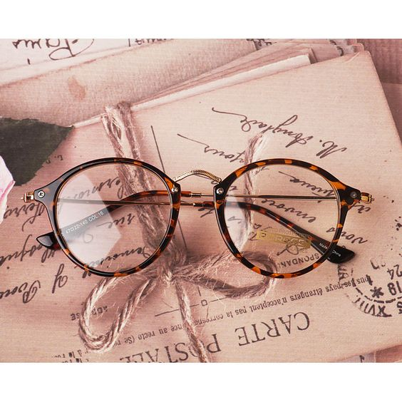 I am obsessed with reading glasses at the moment.  I cannot wait to try a pair like these.