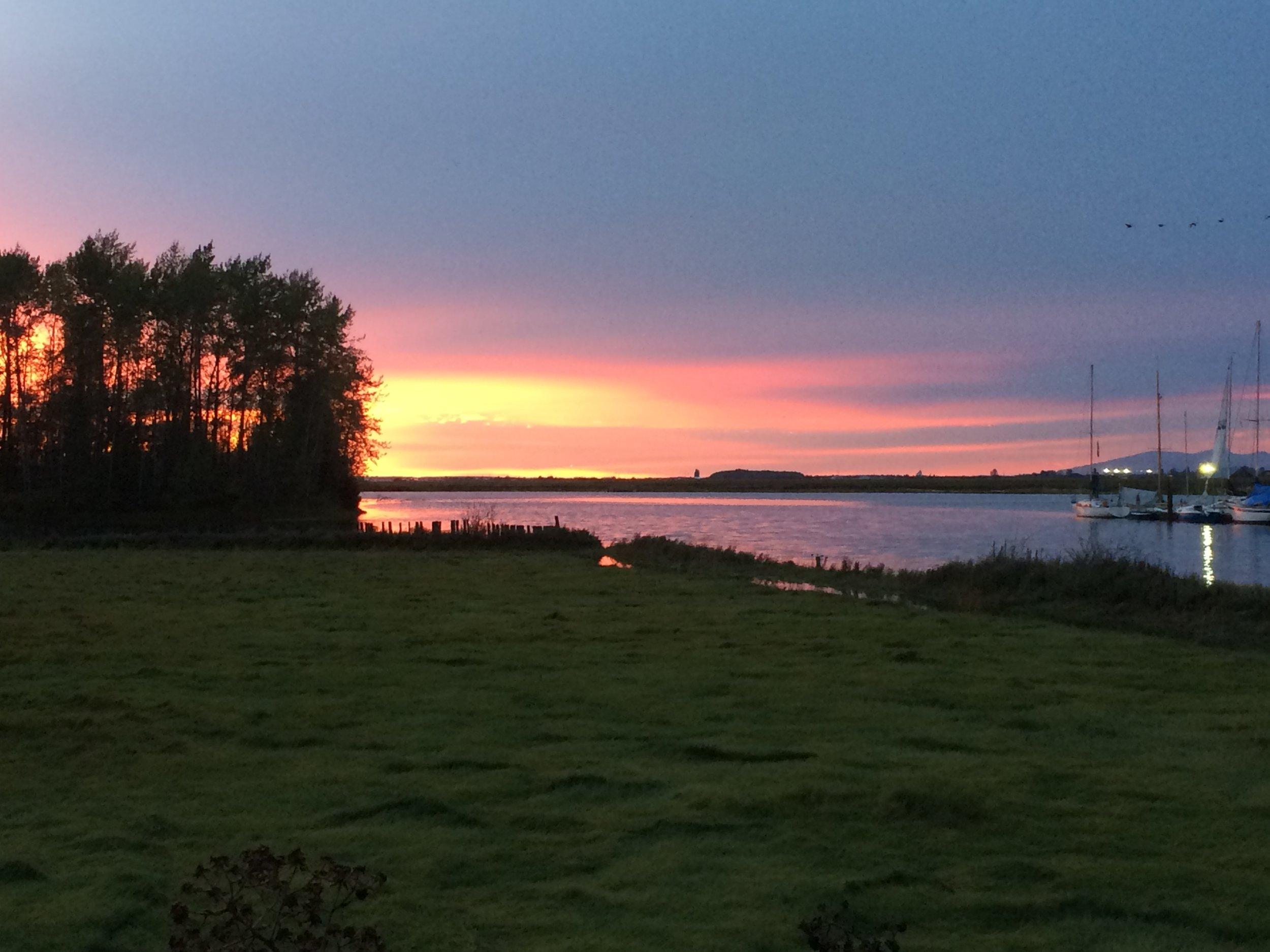 Vancouver Night Sky - my zen
