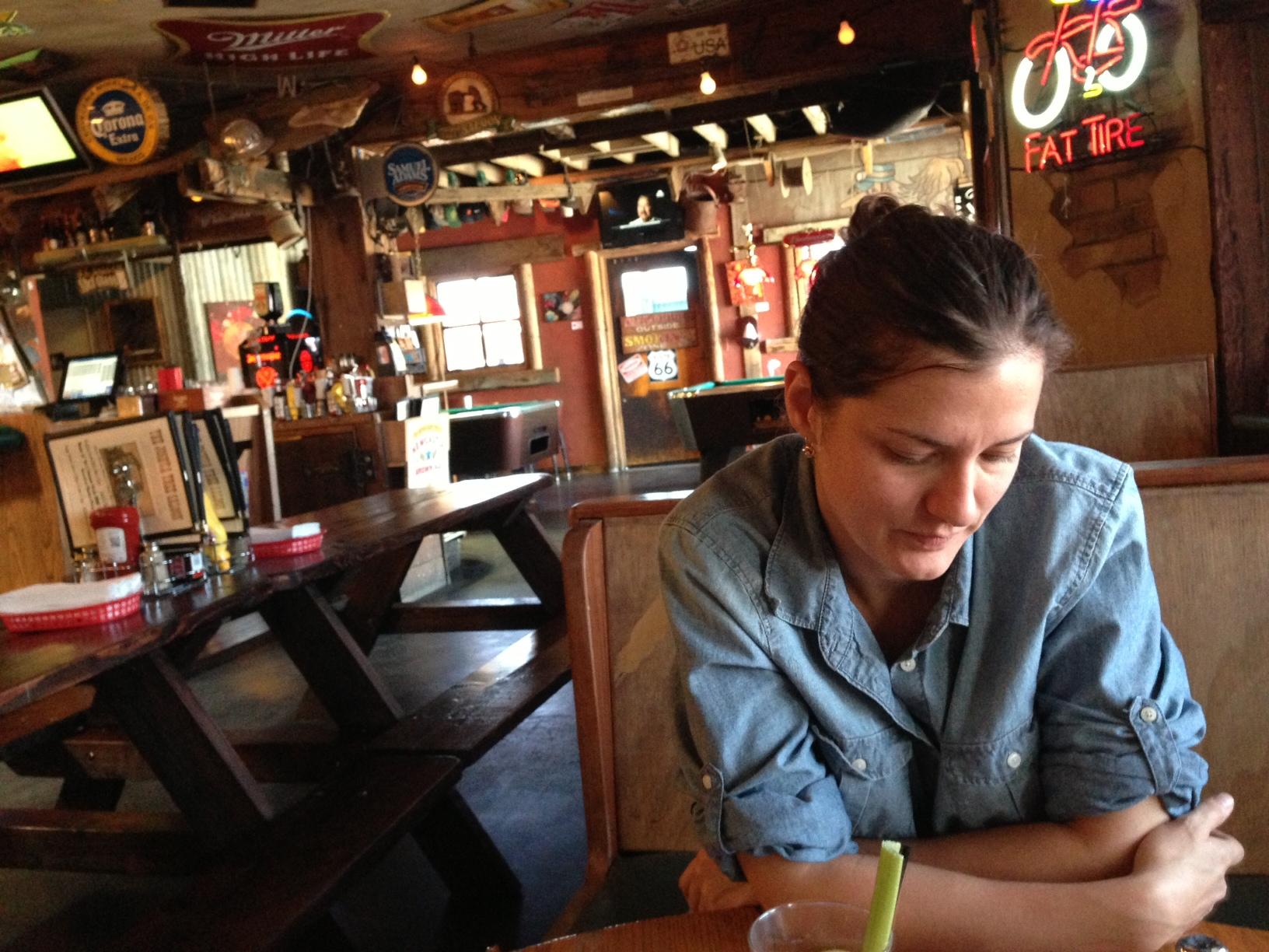 Breakfast at the Joshua Tree Saloon