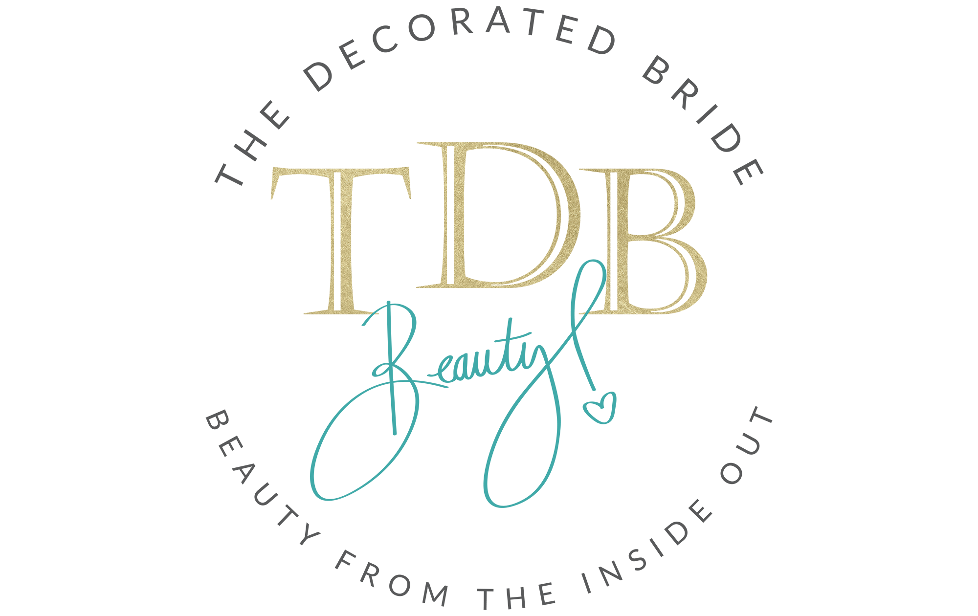 The Decorated Bride Footer Logo