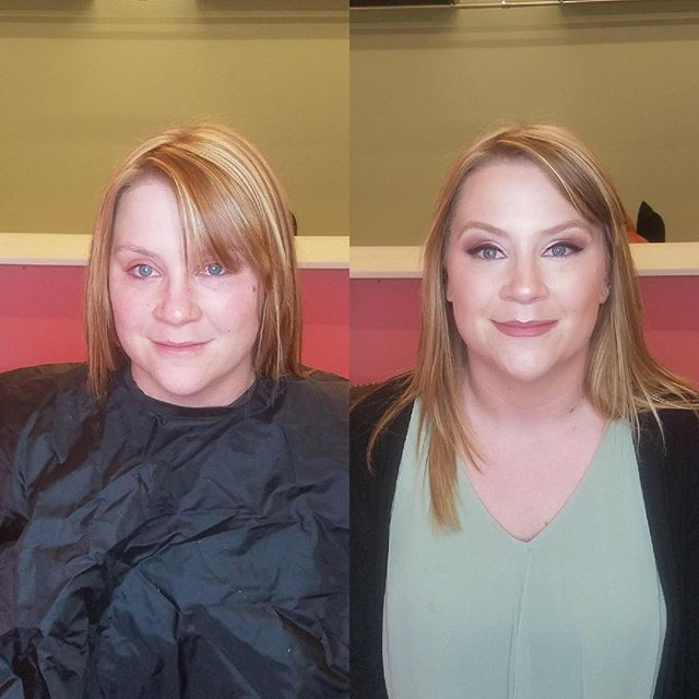 Another successful trial run. Before / After makeup by Shannon for TDB #TDBrocksbeauty #laketahoerenoweddings #makeupartistshannon@tdb