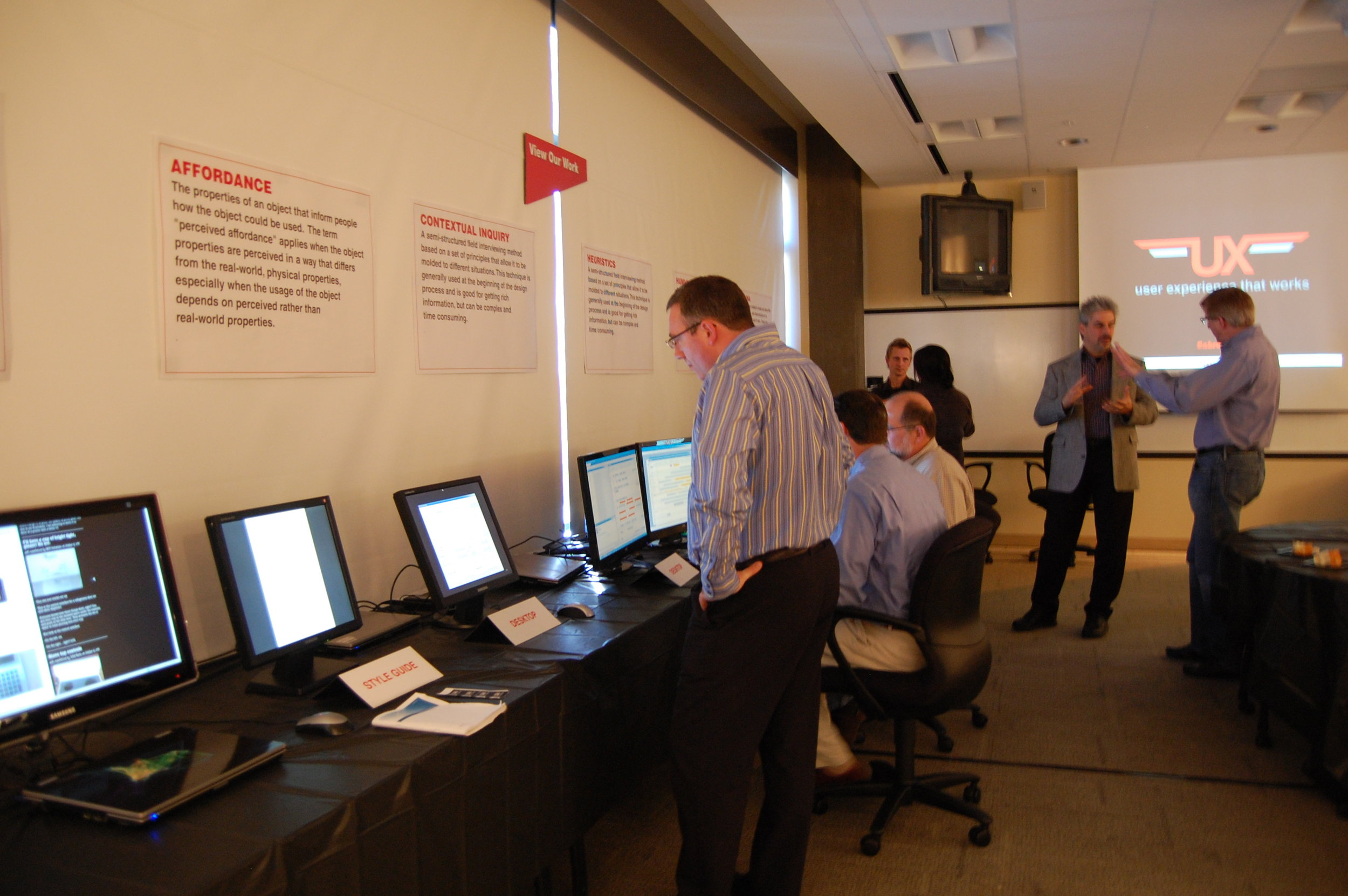 Sabre Airline Solutions UX Design team open house,