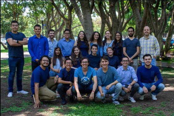 Imagen 5. El equipo Gliksys. Fuente:   https://2019.igem.org/Team:TecMonterrey_GDL