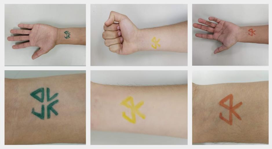 Imagen 6. Concepto de bio-tatuajes. Fuente:  https://2019.igem.org/Team:TecMonterrey_GDL