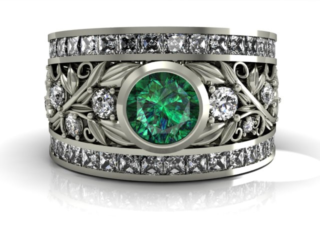 Emerald Princess Round White.jpg