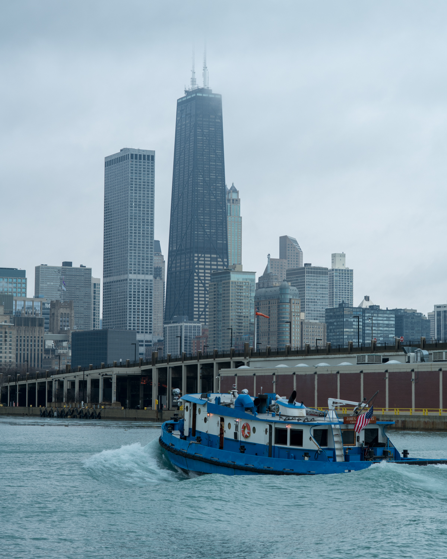 Tyler Harney Photography Chicago Navy Pier Coast Guard John Hancock Building