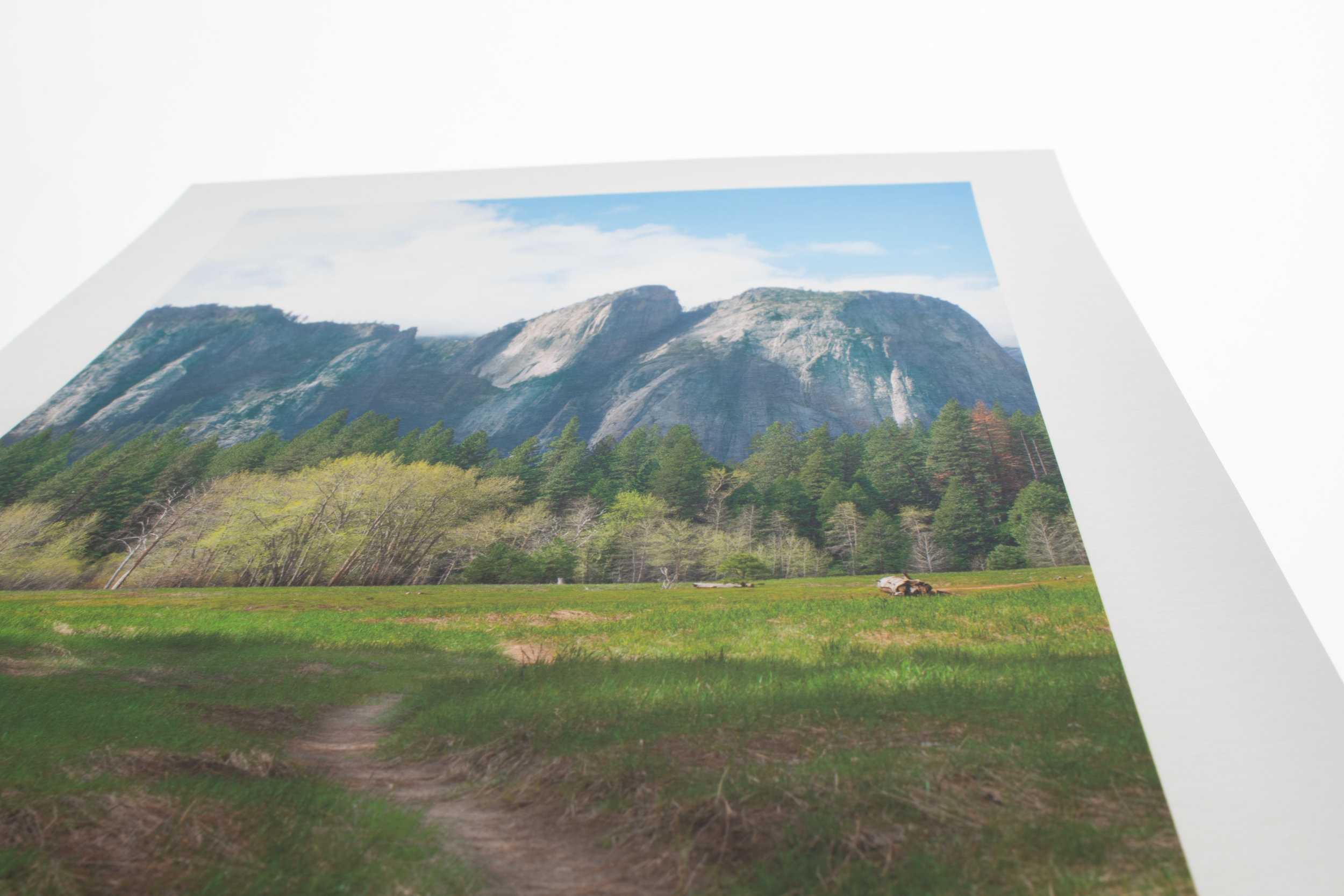 Yosemite Valley Hahnemuhle Fine Art Paper