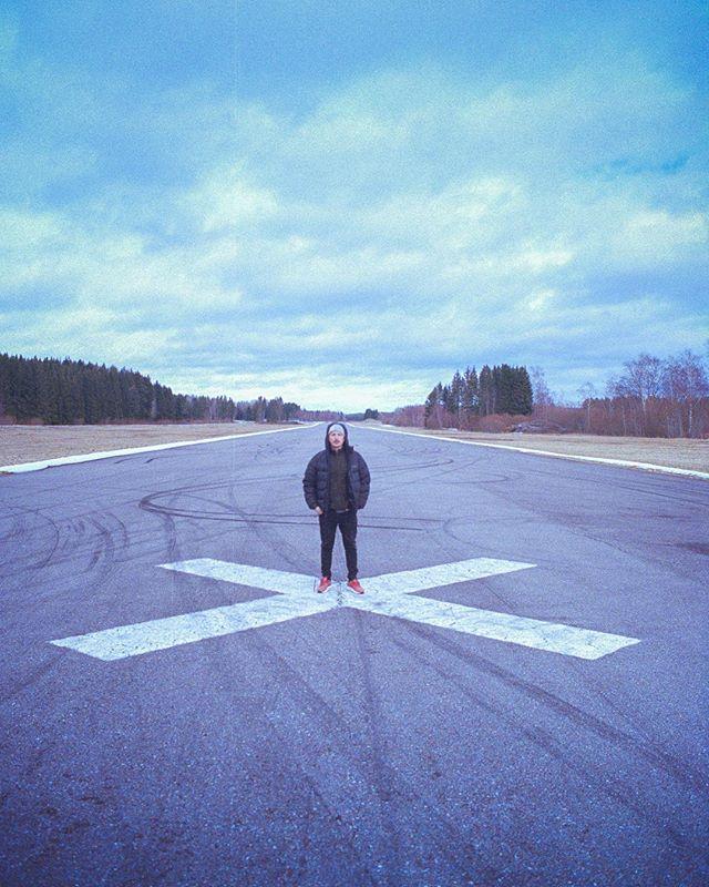Director @sebastianringler marks the spot. 🚀 #kodakportra400