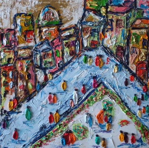 50cm * 50cm (Oil on canvas)
