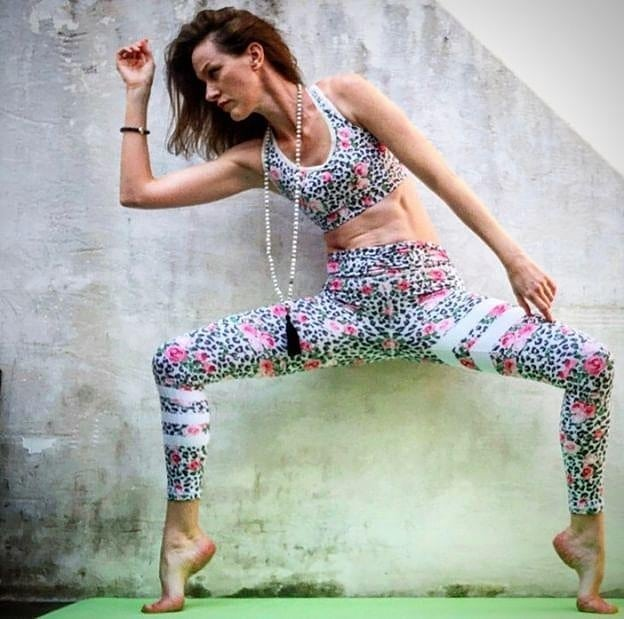 First day of  #MayAngelAsanas 💋 And what a lovely post my yogi @faithfoxmama in her @aurastonedesigns gemstone bracelet 💫Swipe to see her capture such fierce movement - beauty and strength! 💞 Today's yoga mission for this challenge is your choice of standing pose. 💋 It's been amazing going through the hashtag and seeing all valuations! Have a look too: #mayangelasanas  Hosts 💋  @faithfoxmama  @rebeccahleigh  @popsterivy  Sponsors 💋  @marthaacunasportwear my beautiful outfit @merubeads my beautiful mala  @madhippieskinproducts check out my stories! 💜@aurastonedesigns my beautiful bracelet 💜 @niyamas_mat my lovely mat  Angel Missions 💋  Day 1: Standing ✨  Day 2: Heart Opener Day 3: Hip Opener Day 4: Twist/Bind Day 5: Inversion/Arm Balance Day 6: Seated/Reclined Day 7: Angel Choice  #aurastonedesigns #yogabracelet  #fitfluencial  #feeltheyogahigh  #iloveyoga  #healthylifestyle  #yogamom  #myyogalife  #listentoyourbody  #yogisofinstagram  #asana  #yogajourney  #practice  #fitfam  #activeliving  #motivation  #lifestyle  #training  #fashion  #ootd  #healthy  #mala  #筋トレ女子  #ヨガ  #フィットネス女子