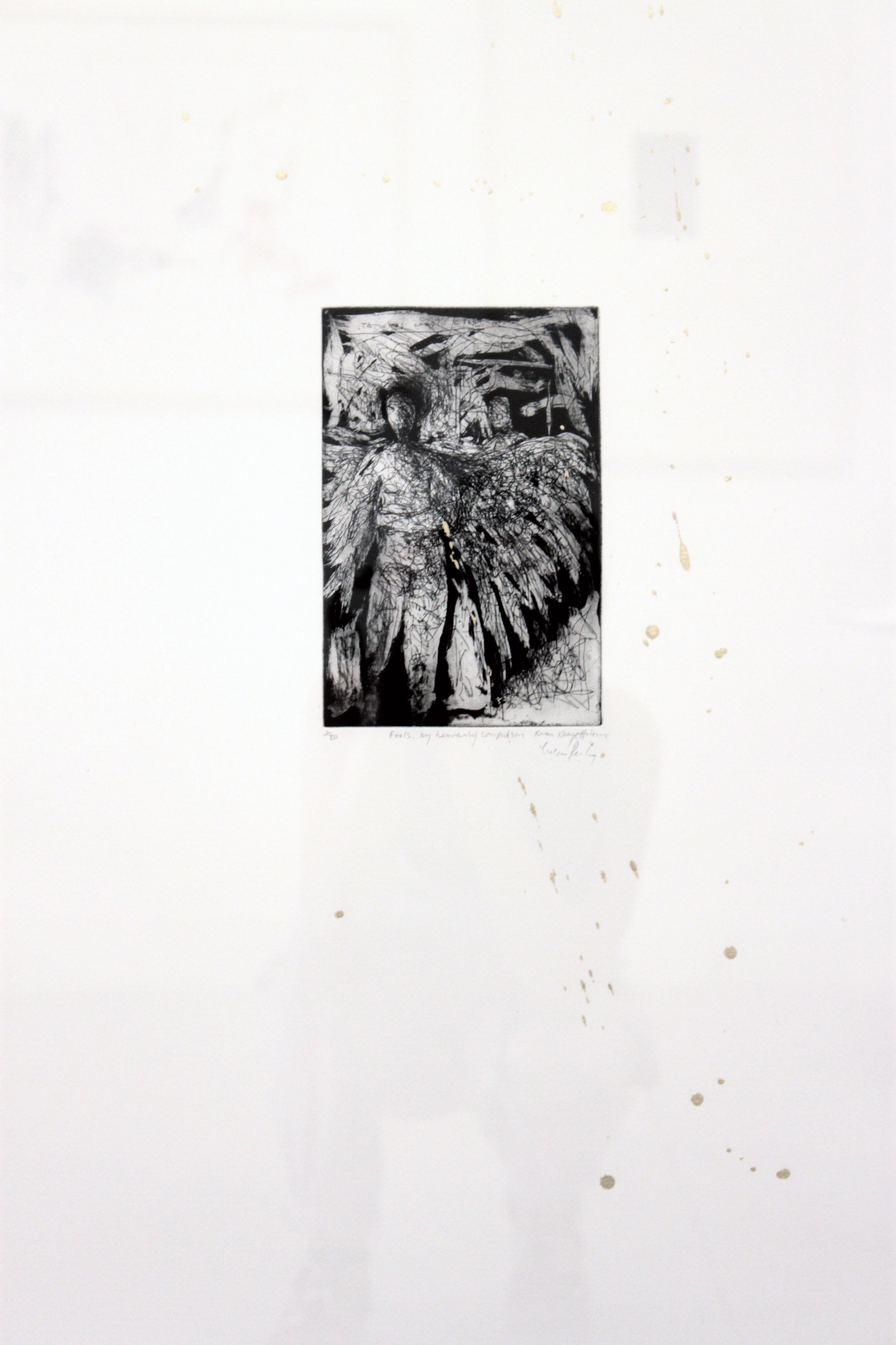 'Fools, by Heavenly Compulsion' Etching and Gold Leaf (100 x 50cm).JPG.jpg