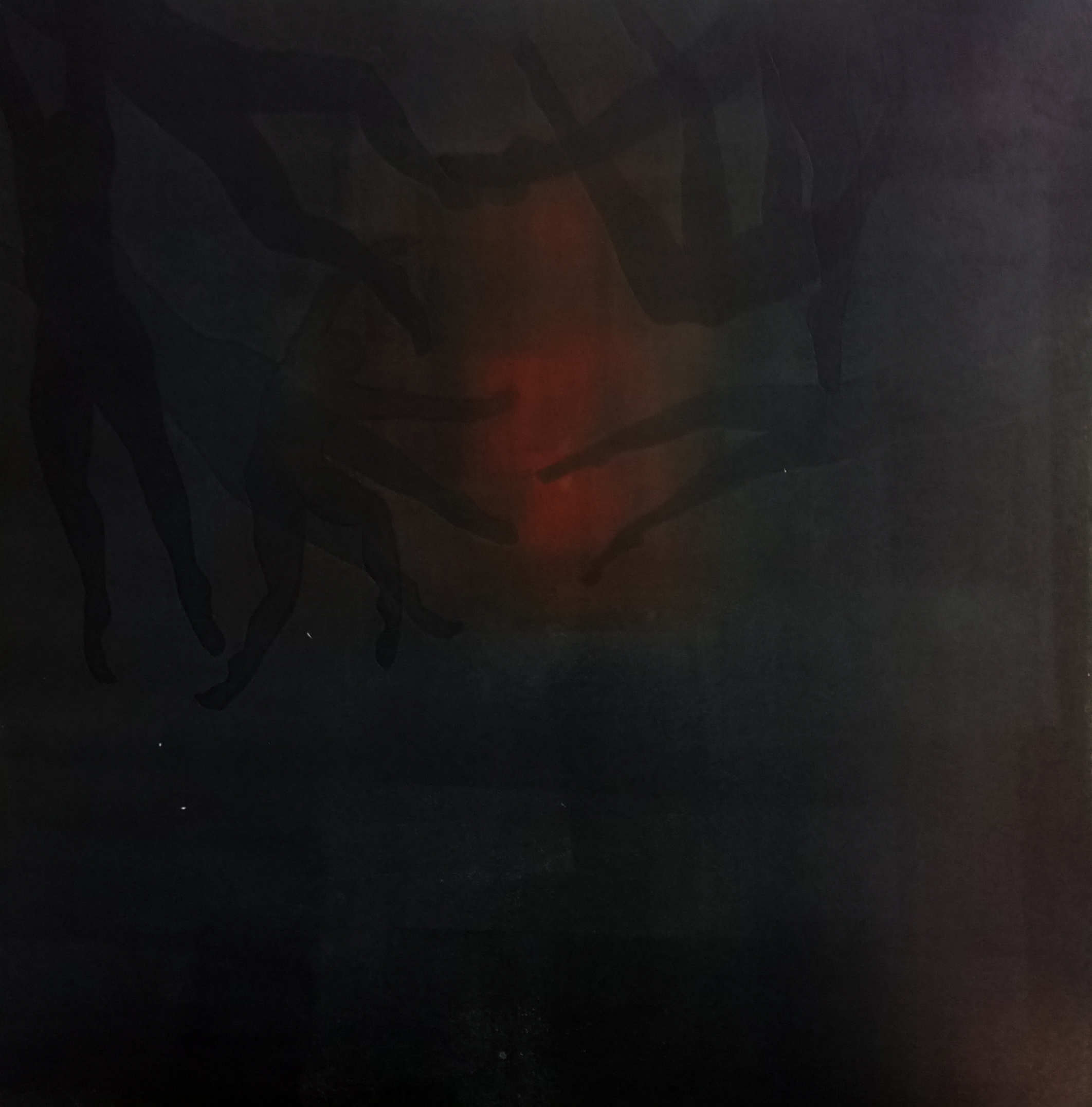Monoprint and Monotype on Hanhemuhle, 30 x 30cm