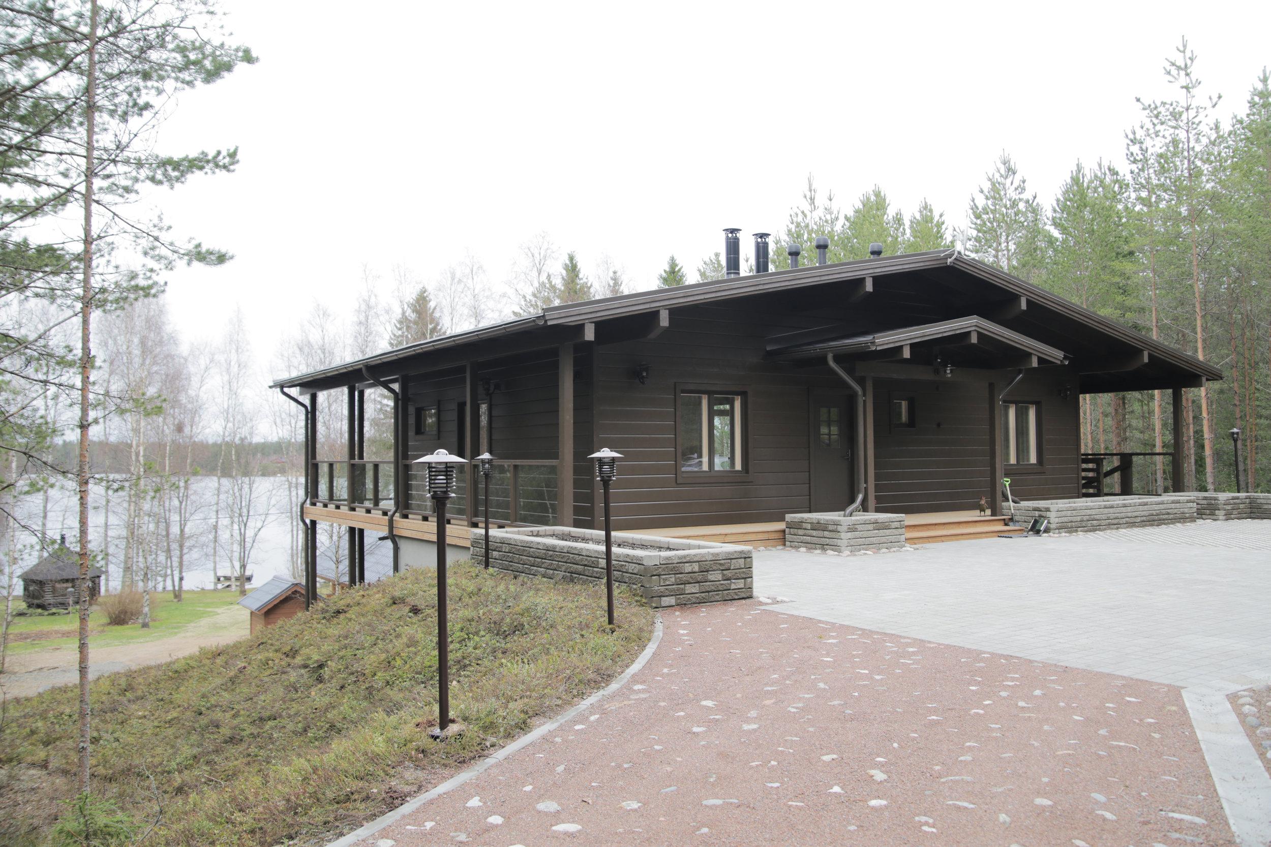 Загородный дом в финляндии апартаменты family alley