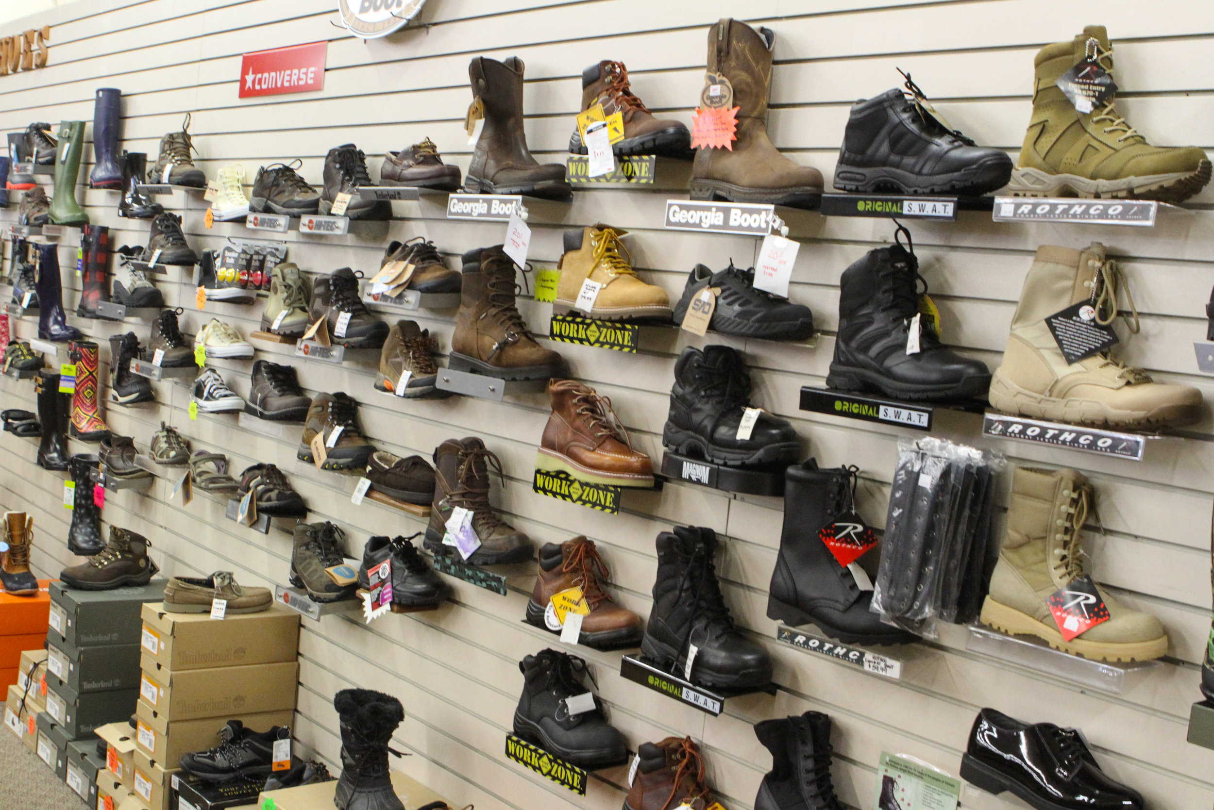 Friedman's ARMY NAVY-OUTDOOR STORE-Boots