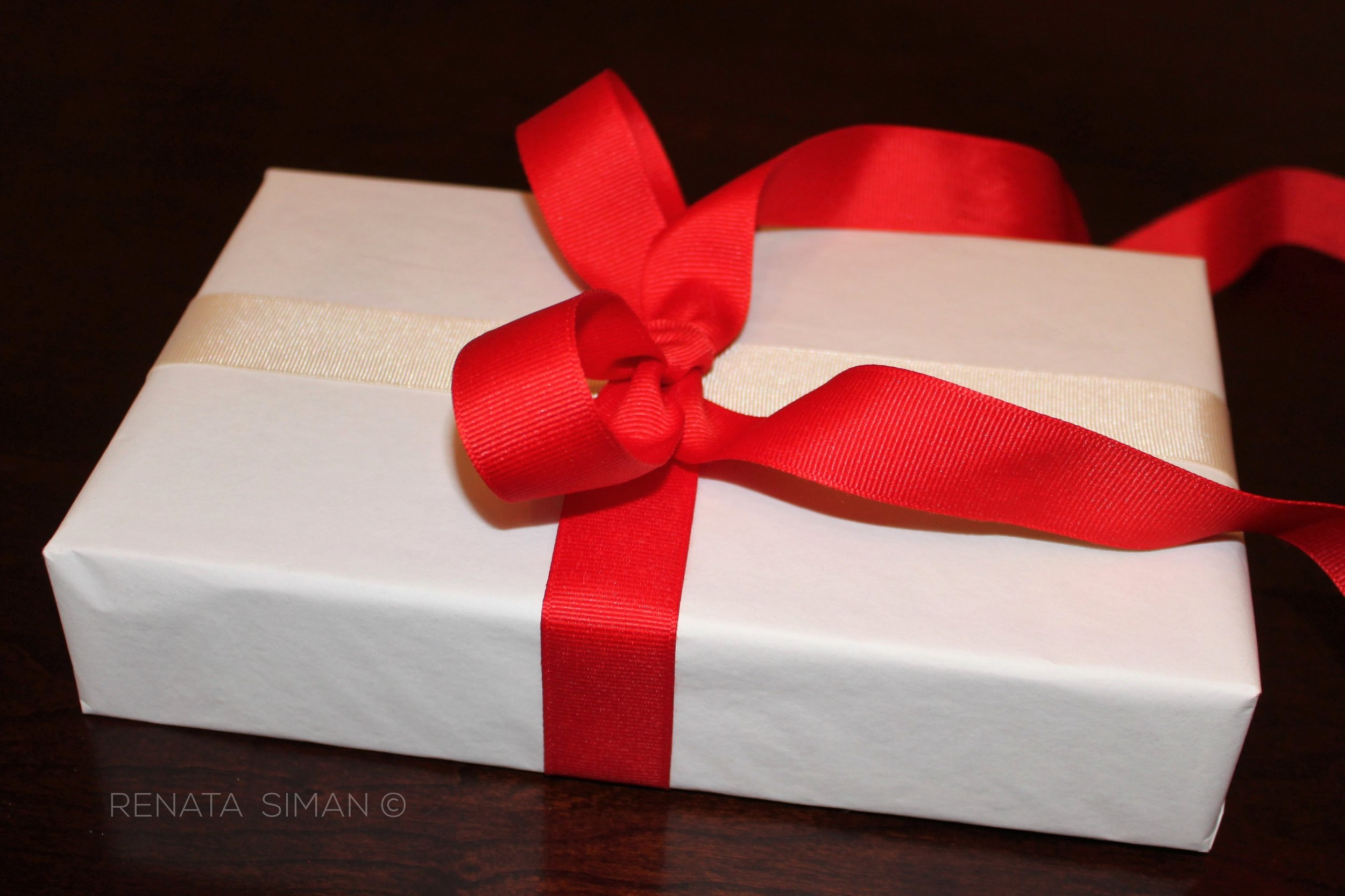 You have a gift. Unwrap your gift wrapping skills - time to show off your talent!