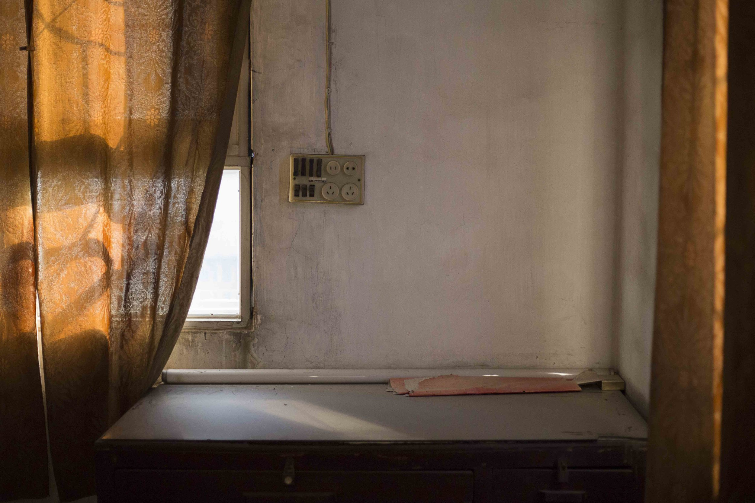 Series: I am Living in a Big House, Alone, 2016