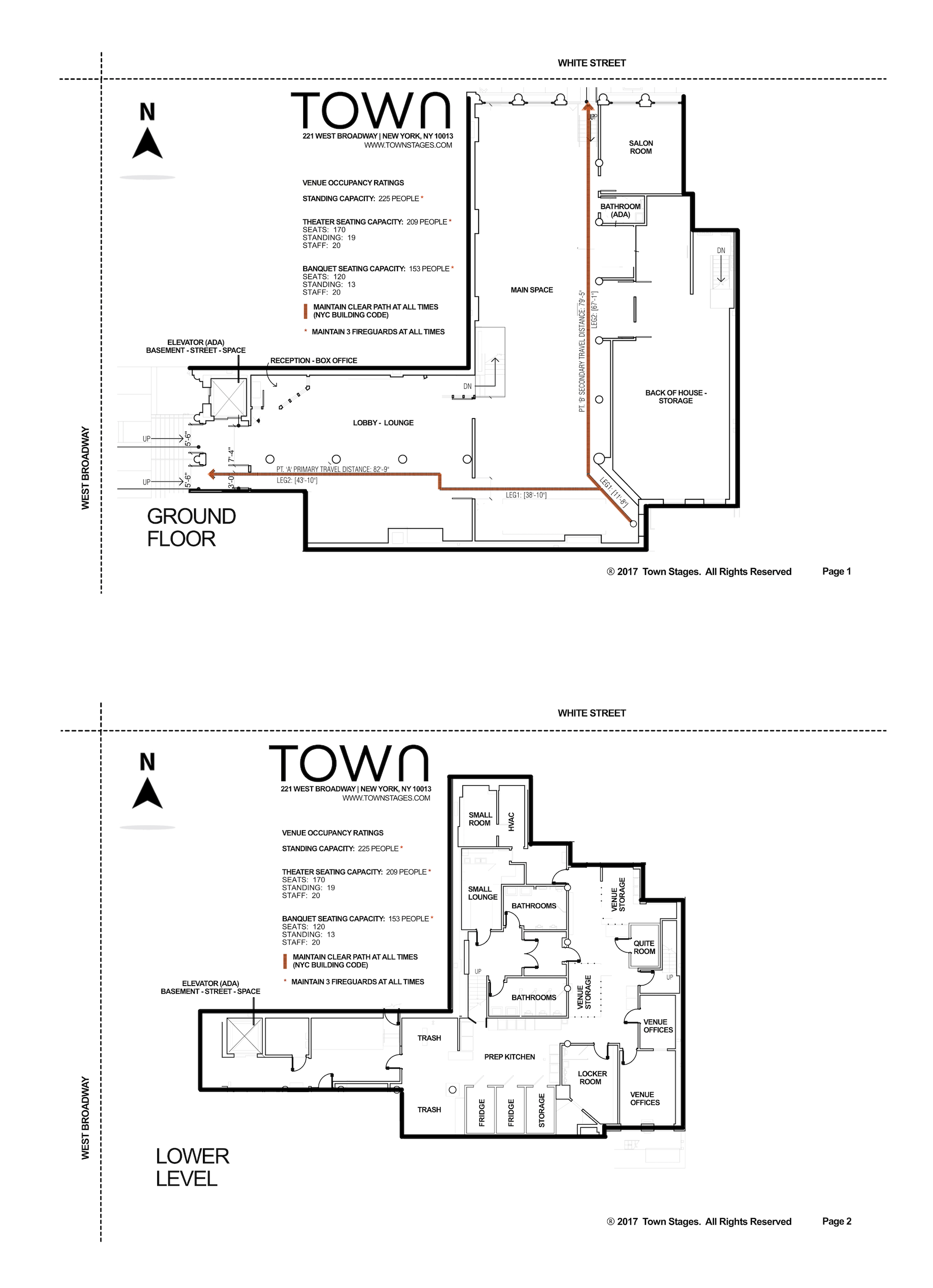 Town Stages Floor Plan 2017