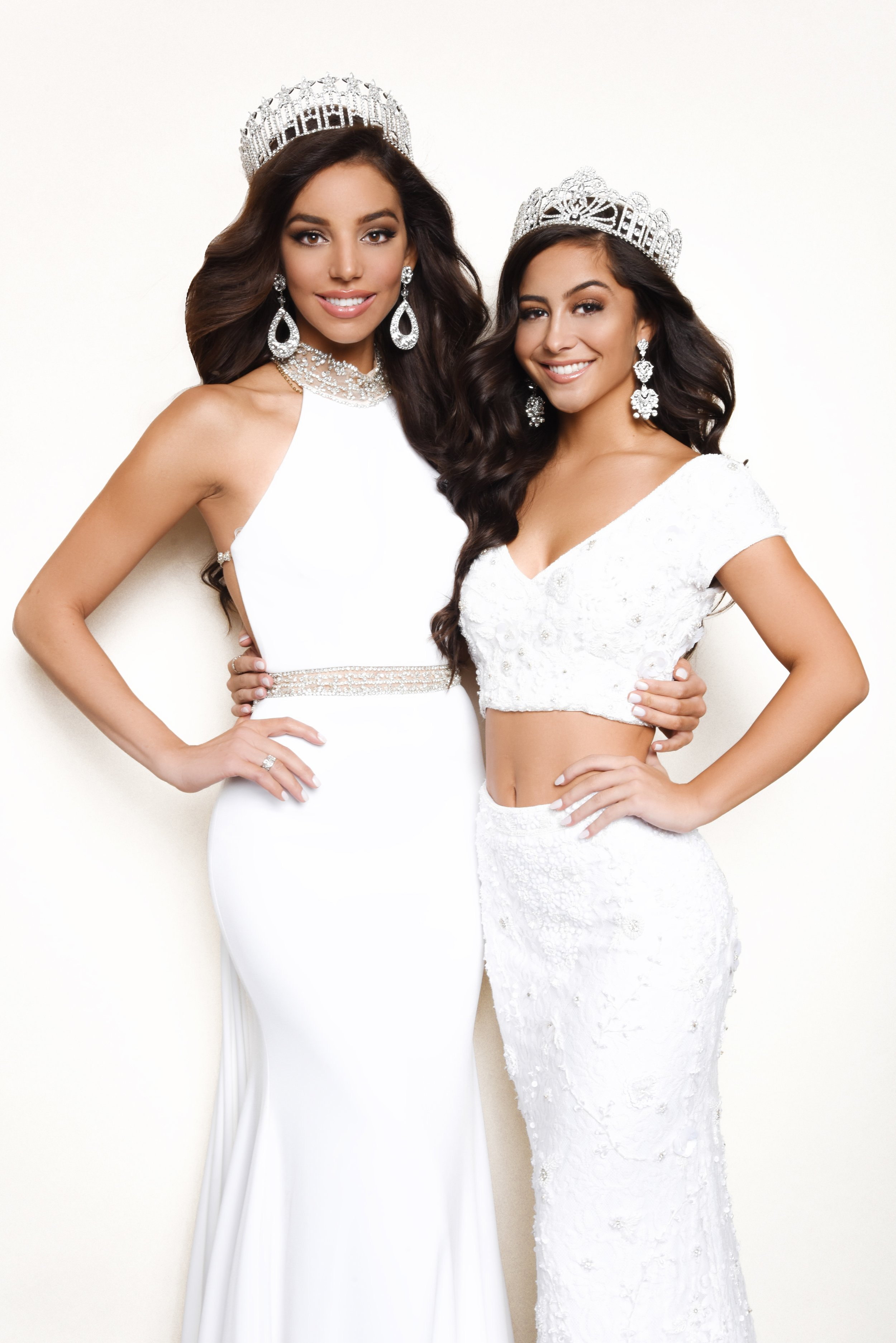 Miss Pennsylvania USA 2019, Kailyn Marie Perez and Miss Pennsylvania Teen USA 2019, Julia Meckley.