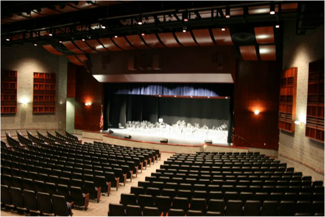 The Richland Performing Arts Center is at the forefront of presenting the arts to Cambria County. The facility is a unique achievement of vision, initiative, artistic accomplishment, stunning architecture, and technical facilities and features impeccable acoustics. The 887 seat proscenium theater is located at One Academic Avenue, in the Richland High School. Built in 2007, many theatrical events and concerts performed by both amateurs and professionals have performed on the very stage that we, at Richland, call home today.
