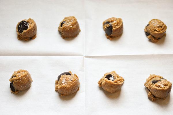 Decadent Gluten Free Vegan Chocolate Chip Cookies_ dough balls.jpg
