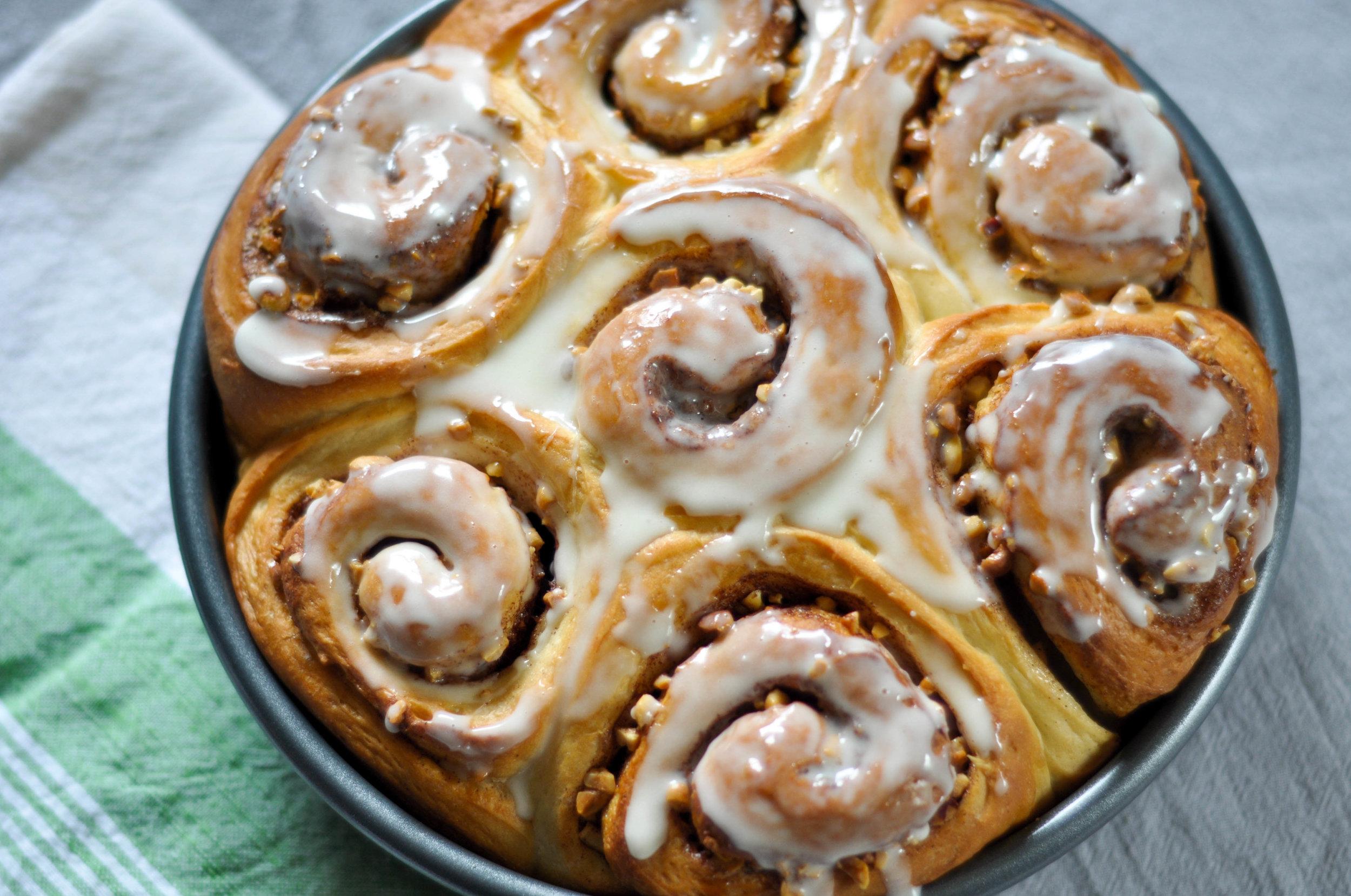 Hokkaido Milk Bread Cinnamon Rolls The Sweet Sour Baker