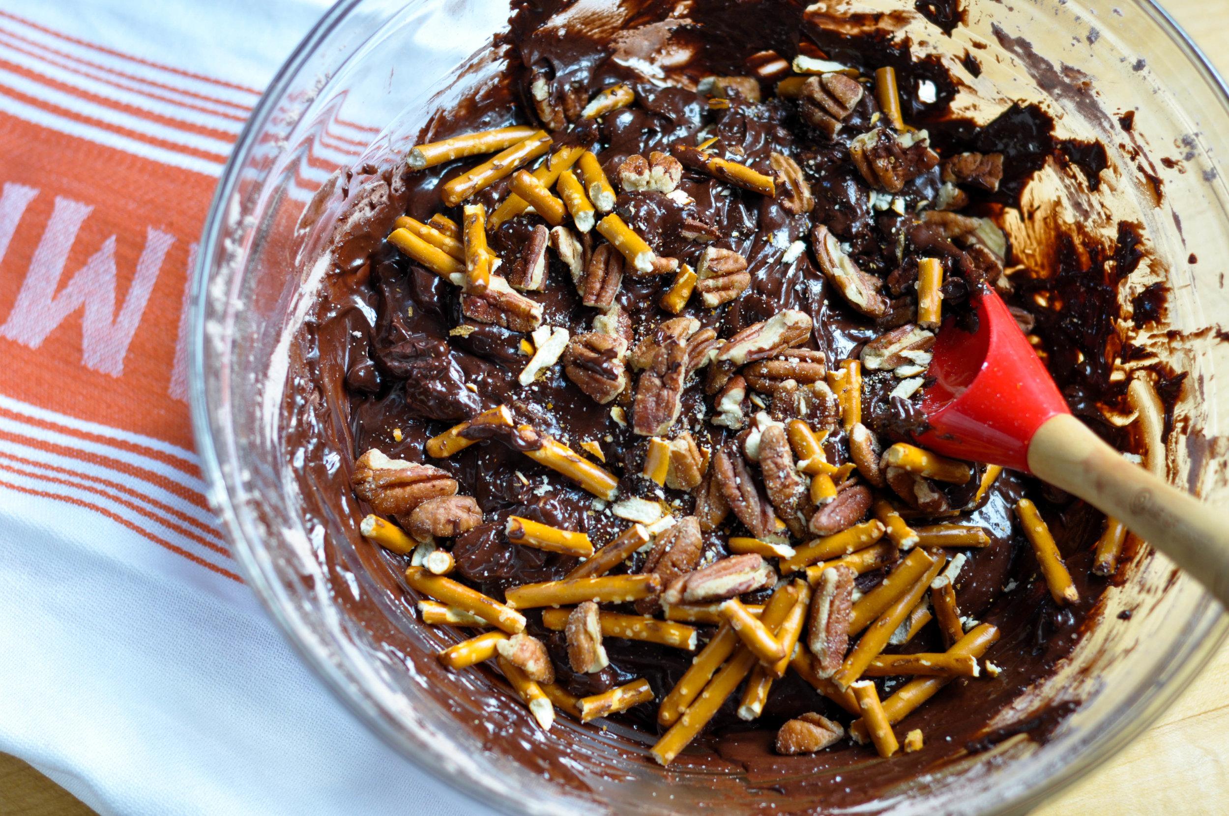 Chunky Chocolate Pecan Brownie Spiders_batter-0082.jpg