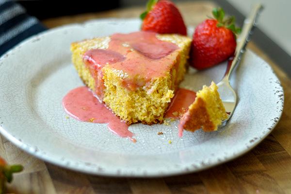 Strawberry Cornmeal Skillet Cake_forkfull-0068.jpg