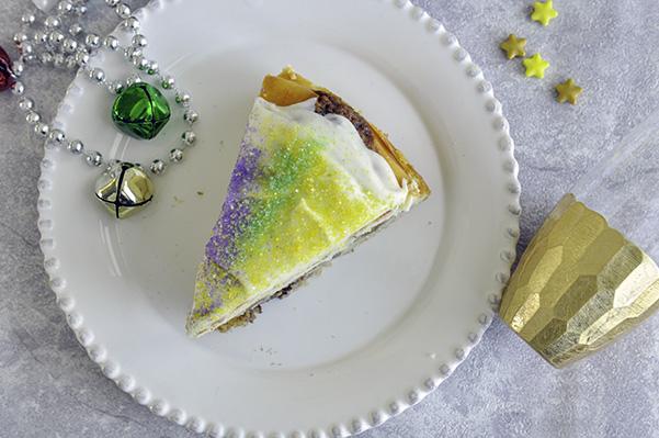 King Cake Cheesecake_overhead slice.jpg